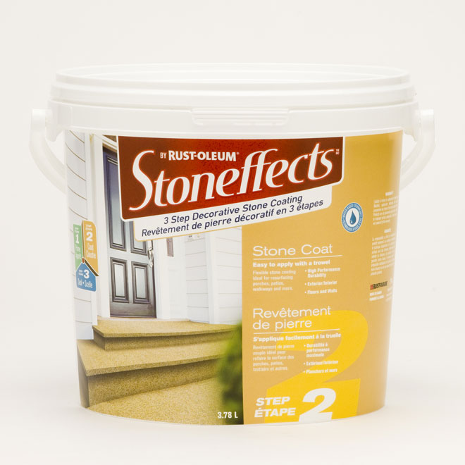 Coating - Decorative Stone Coating - Step 2
