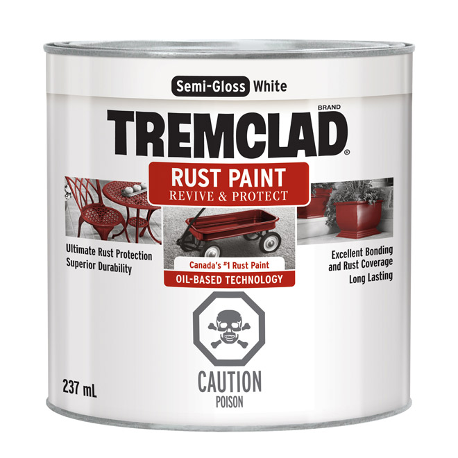 "Paint - ""Semi-Gloss Finish"" Antirust Paint"