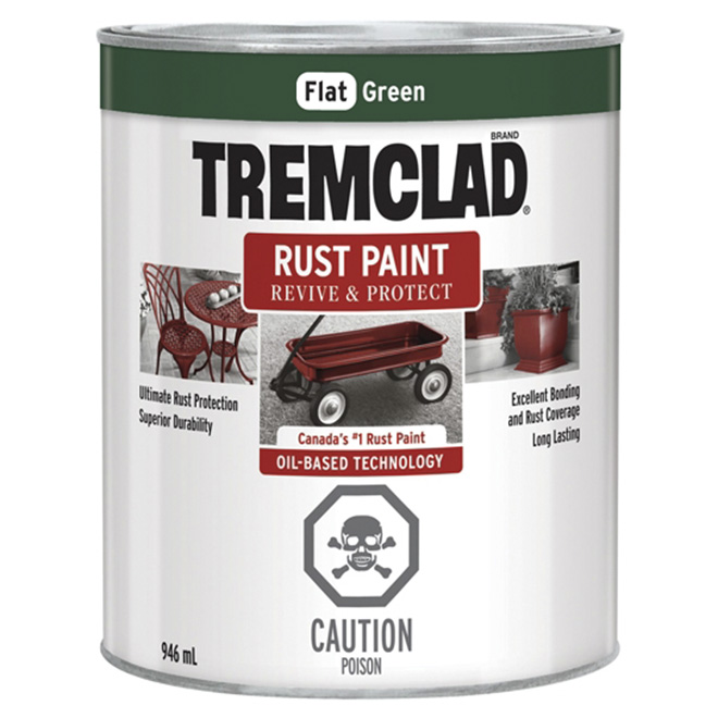 Tremclad(R) Rust Paint - Green