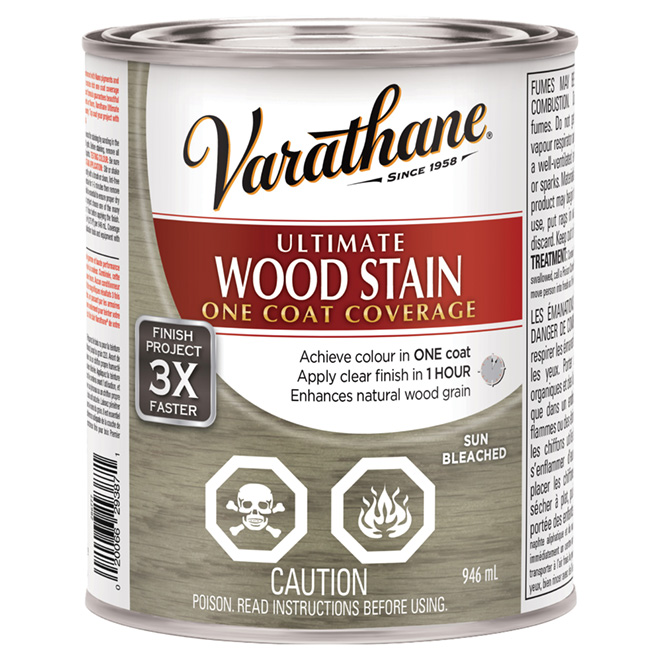 """Ultimate"" One-Coat Wood Stain - Sun Bleached"
