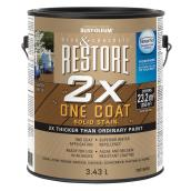 Solid Stain - Restore 2x One Coat