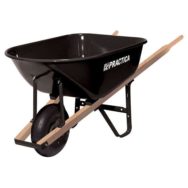 Wheelbarrow with Steel Tray - 6 cu.ft