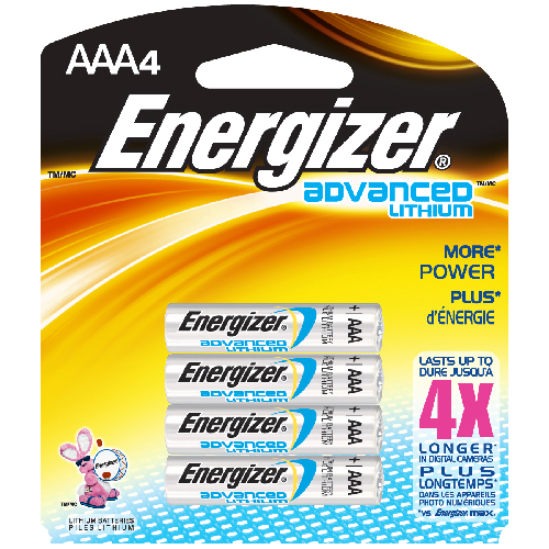 """Advanced Lithium"" AAA Battery"