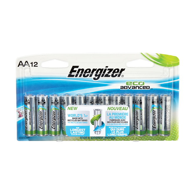 "Battery - Pack of 12 ""Eco Advanced"" Alkaline AA Batteries"