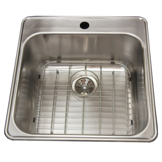 Single Sink - Stainless Steel -Top Mount - 23""