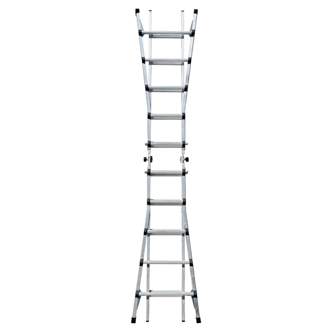 Telescopic Multi-Position Ladder - 21'