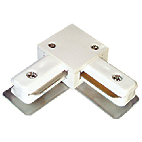 Linear Track Lighting L-Connector - White