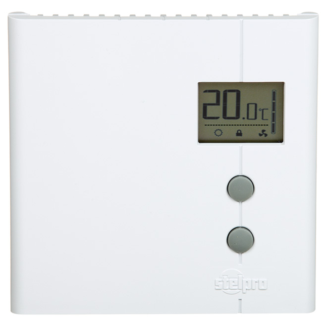 Non-programmable electric thermostat