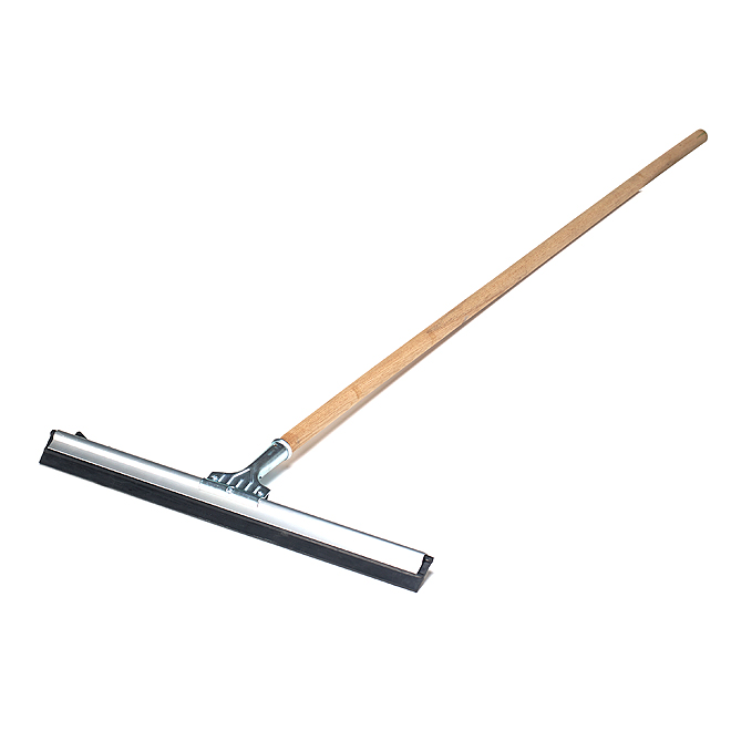 "Floor Squeegee with Handle - ""Pro-Spec"" - 24"""
