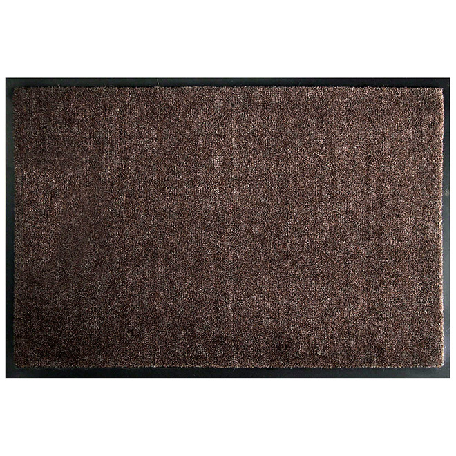"Polypropylene ""Puma"" Mat - Indoor and Outdoor - Brown"