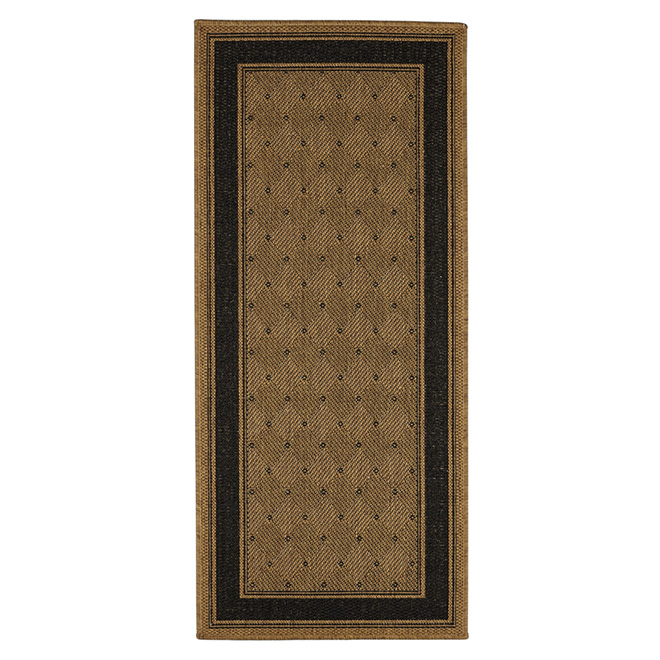Decorative Polyolefine Mat - Wheat Coloured