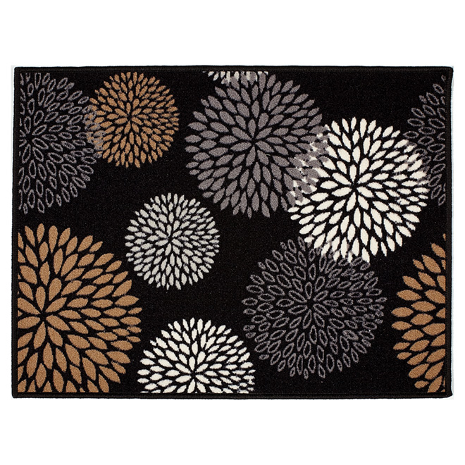 Decorative Nylon Mat, Black