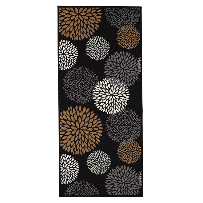 Decorative Nylon Mat - Black