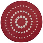 Exterior Rug - Round - Reversible - Dune - 7' - Red