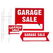 Garage Sale 3-Sign Kit