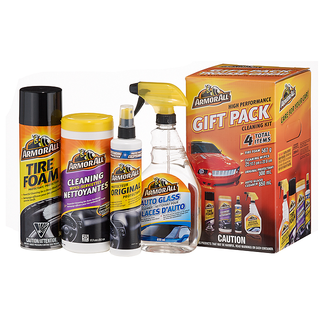 4-PC Car Washing Gift Pack