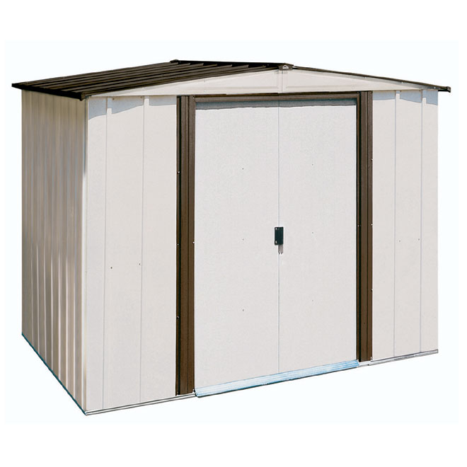 Build a shed with no money vinyl storage sheds 8x10 for Rona garage plans