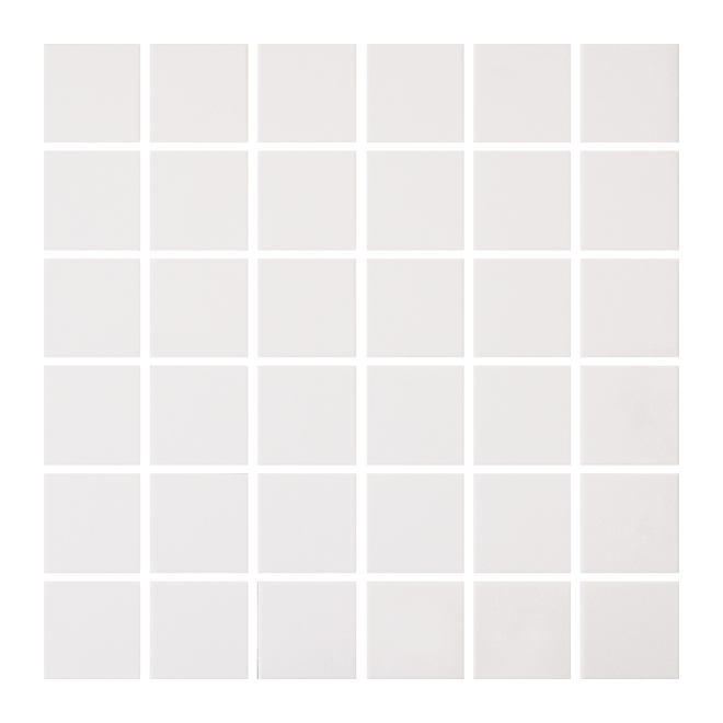 "Ceramic Tiles - Mosaic - 12"" x 12"" - 25/box - Cream"