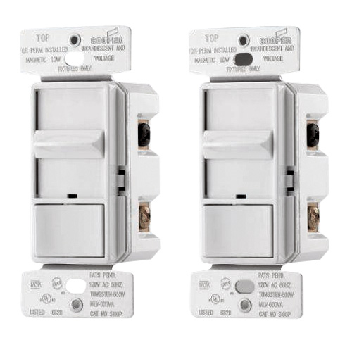 2 Single Pole Sliding Dimmers