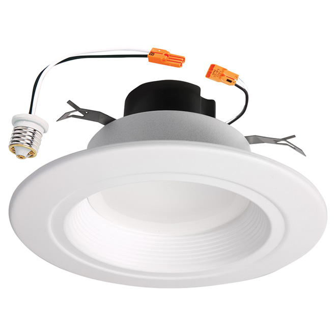 Dimmable recessed light retrofit kit led 6 white rona dimmable recessed light retrofit kit led 6 white mozeypictures Choice Image
