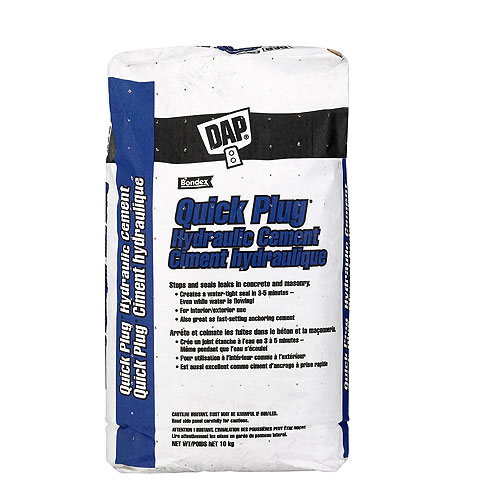Hydraulic Cement - Quick Plug - 10 kg