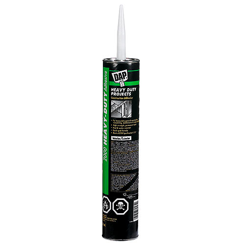 Heavy Duty Construction Adhesive DAP 2000 - 828mL