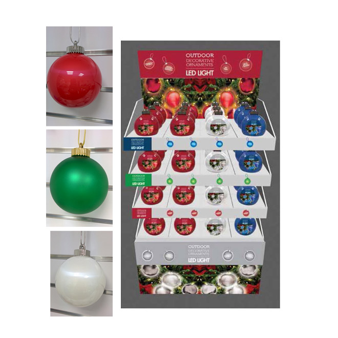 5-in Outdoor Lighted Ornament
