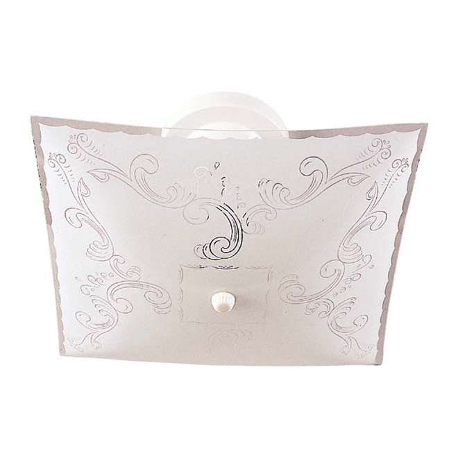 2-Light Ceiling Fixture