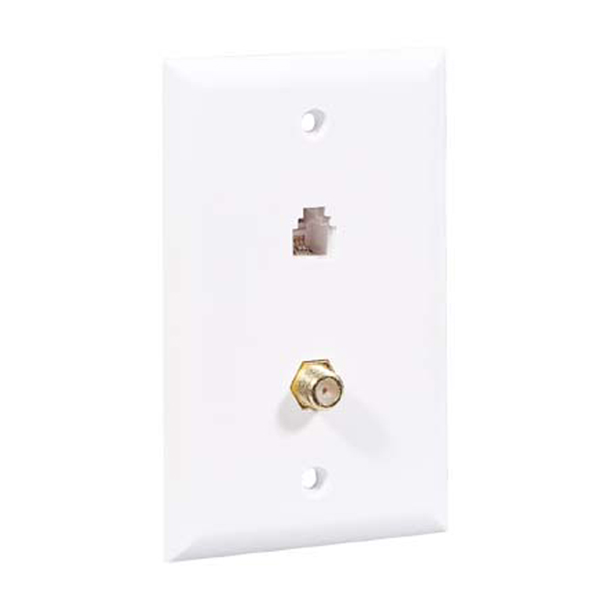Modular double wall plate