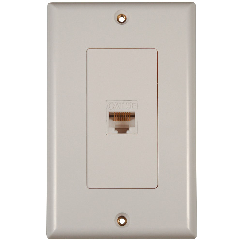 WALL PLATE CAT5E