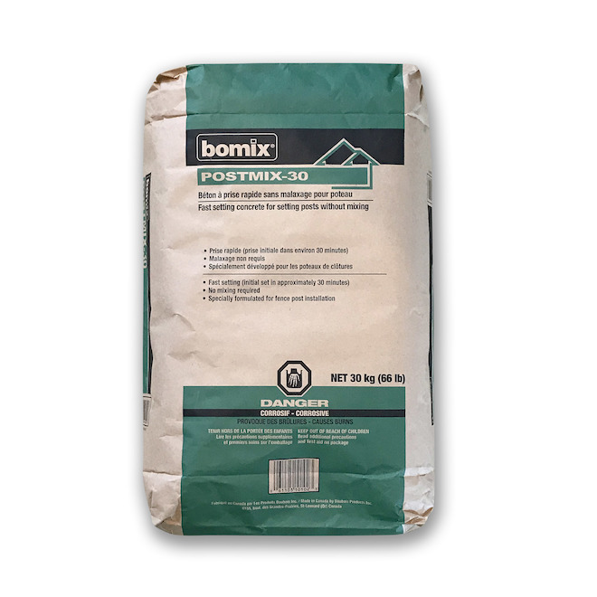 Quick Curing Concrete Mix for Post Setting - 30 kg