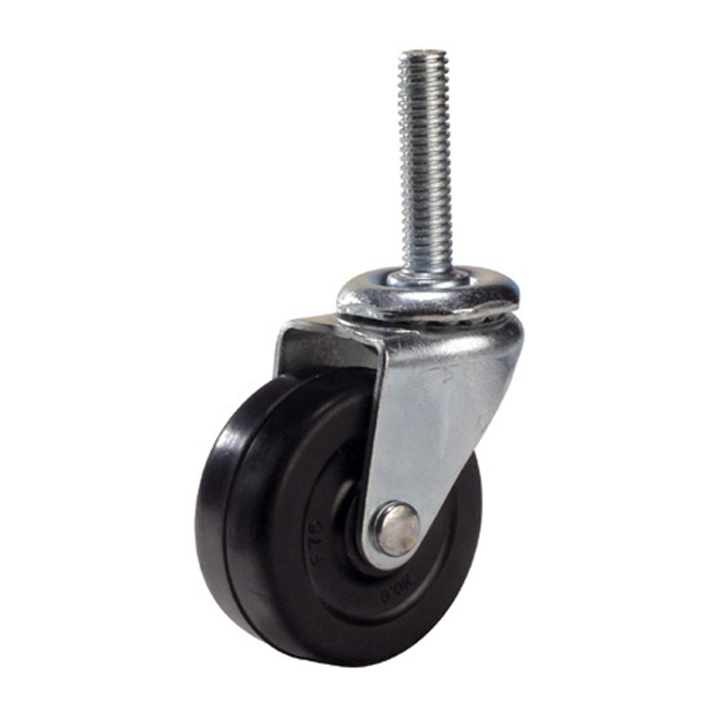 Caster - Threaded Stem Swivel Caster