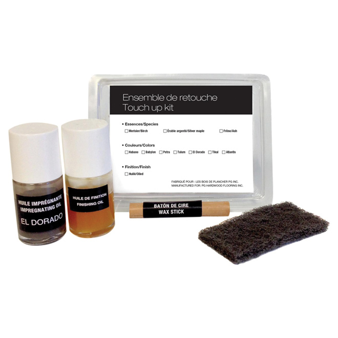 Touch Up Kit for Pre-Oiled Flooring - Larzac