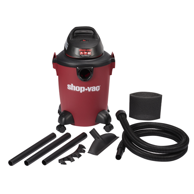Wet and Dry Vacuum 3.0HP - 6 gallons