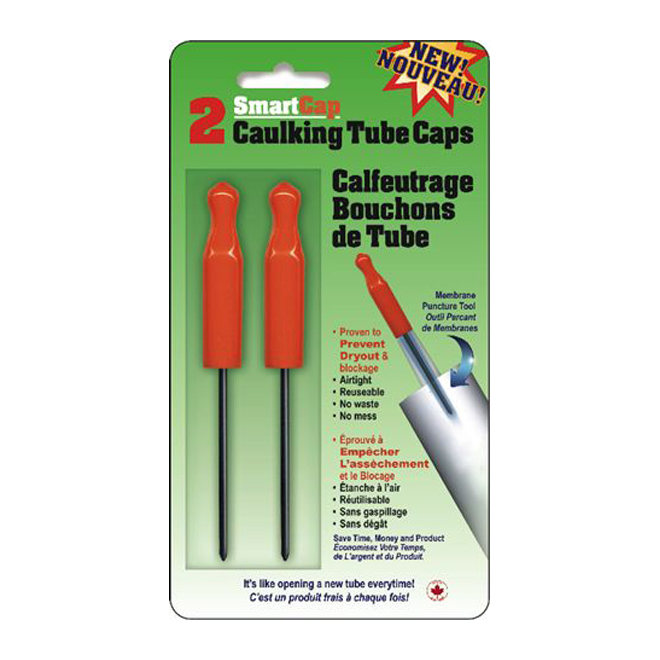 Caulking Tube Caps (2-unit pack)