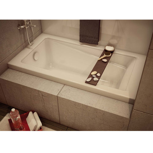 """New Town"" Drop-In Bathtub - Left-Hand Drain"