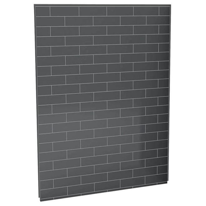 UTile Shower Wall Panel - Metro - Thunder Grey - 60""