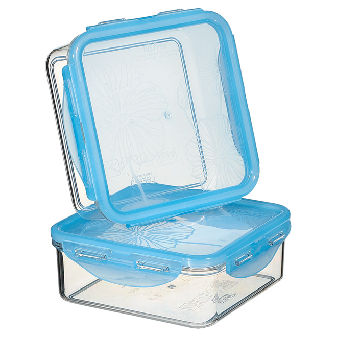 Set of 2 Food Containers - Tritan Plastic - 870 ml