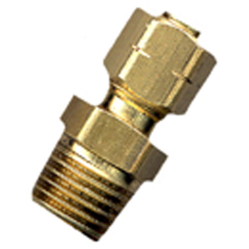 "Union - Brass - 1/4"" x 1/8"" - Tube x MIP"