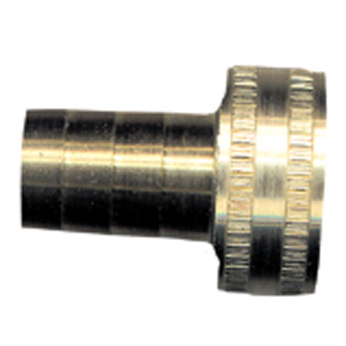 "Hose Barb - Brass - 3/4"" x 1/2"" - Female x Barb"