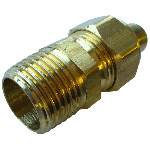 "Coupling - Brass - 1/4"" x 1/8"" - Tube x FIP"
