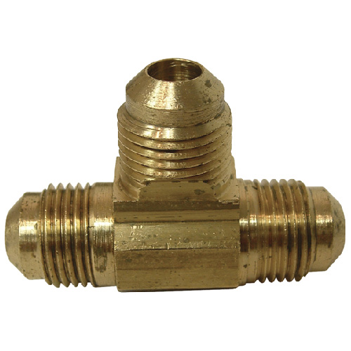 "Flare T-Fitting - Brass - 3/8"" x 3/8"" x 3/8"" - Flare"