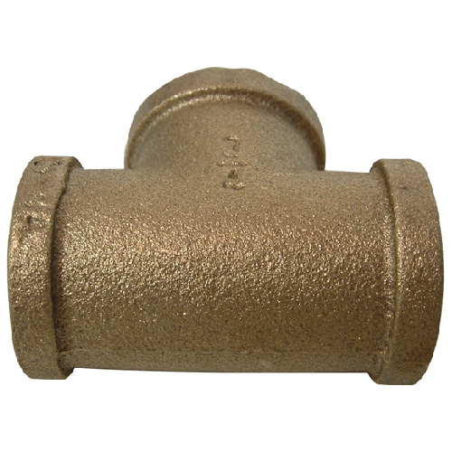 "T-Fitting - Brass - 3/4"" x 3/4"" x 3/4"" - FIP x FIP x FIP"