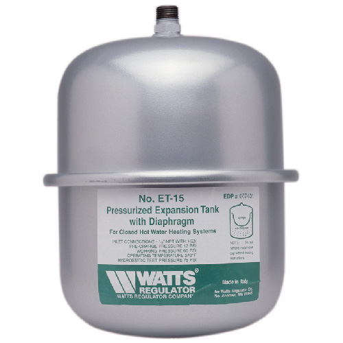 2.1 Gal. Non-Potable Water In-Line Expansion Tank