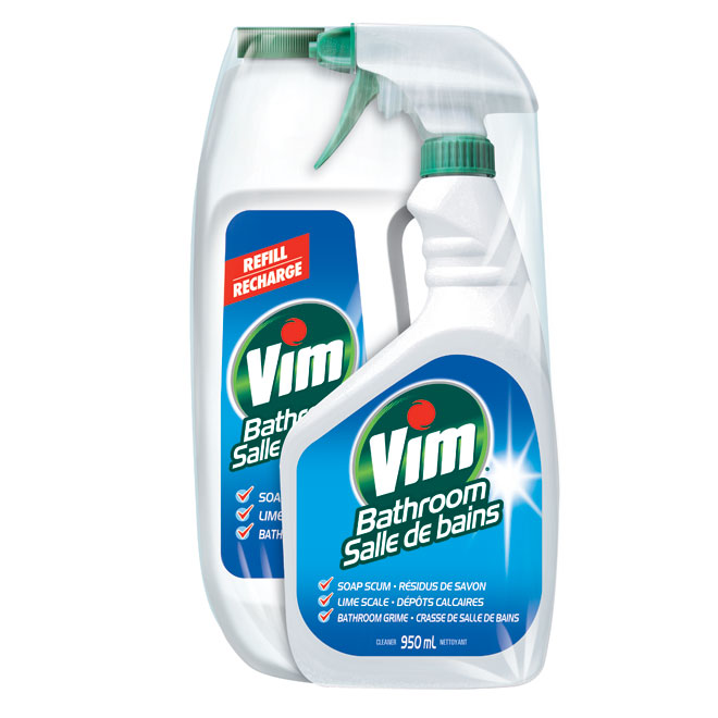 Household cleaning tips bathroom - Cleaner Quot Vim Quot Bathroom Cleaner Rona