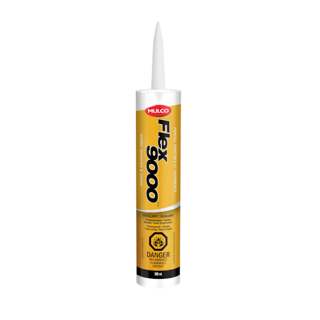 Thermoplastic Sealant - Flex 9000 - 300 mL - White
