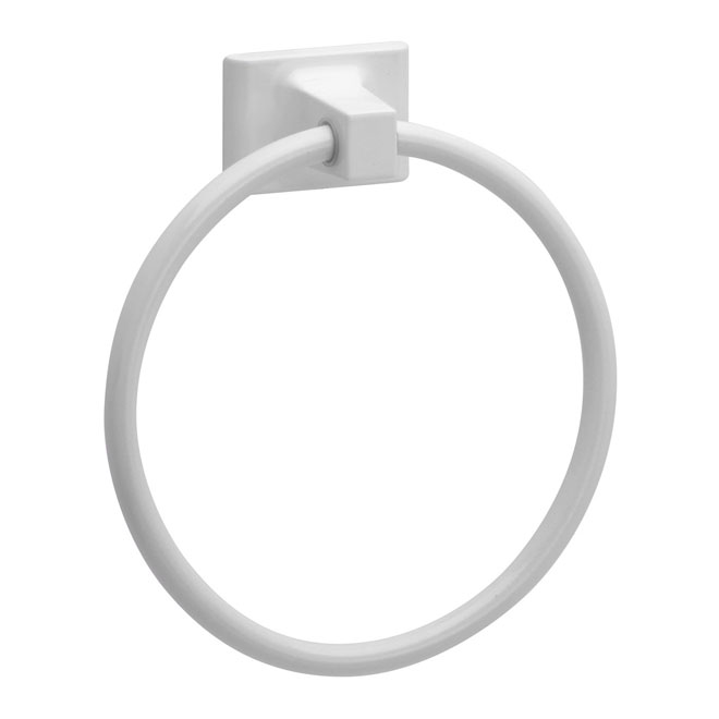 Towel Ring « Sunglow »- White