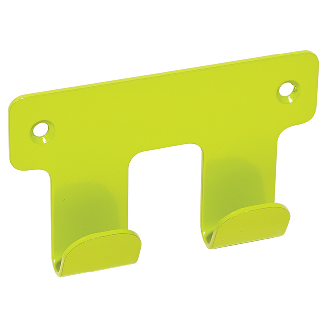 "Robe Hook - ""Chroma"" Double Robe Hook - Modern Green"