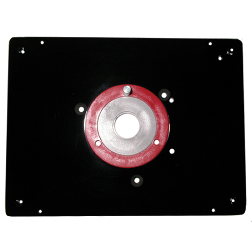 Router mounting plate