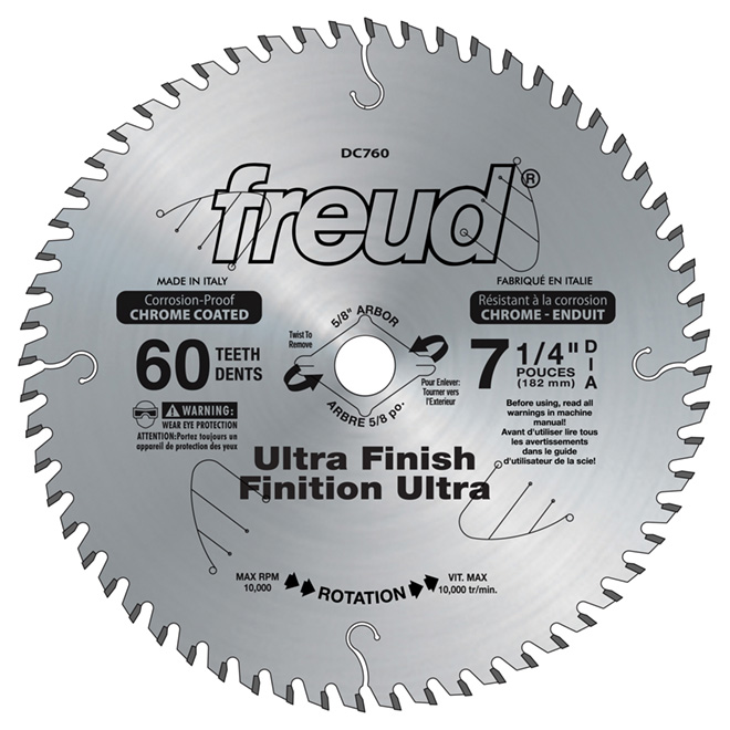 7 1/4-in Ultra Finishing Saw Blade